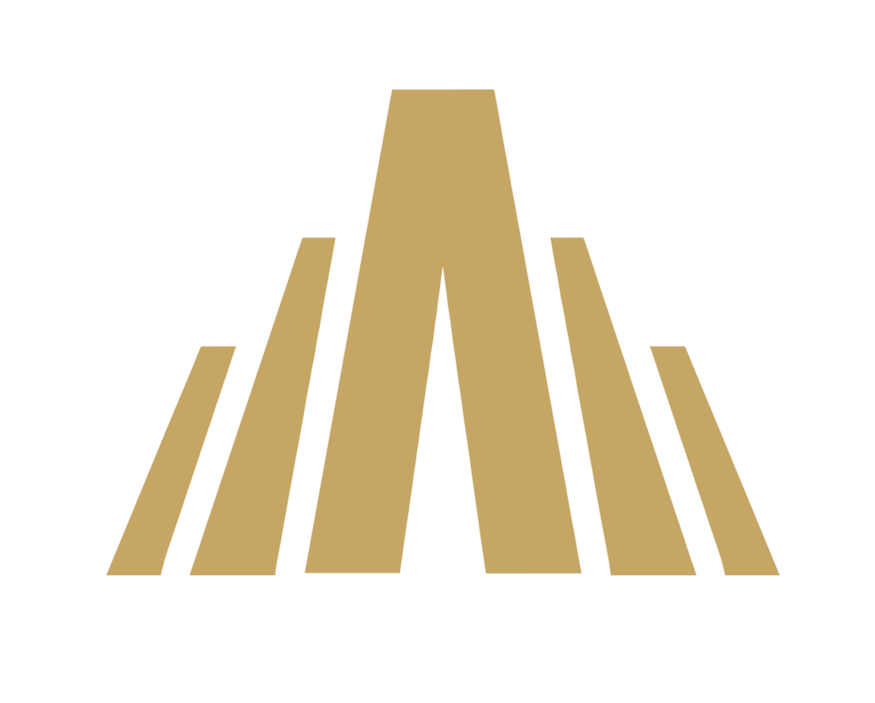 Asgard Club fitness Logo dorato trasparente full
